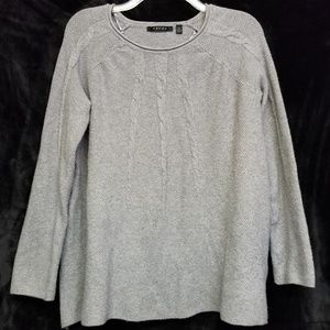Cyrus Grey Crew Neck Sweater